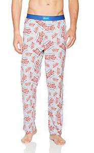 Official Pepsi Cola 7Up Soft Drink Mens Lounge Pants Pyjama Bottoms £8.99 & Free Delivery - Sold and Shipped by FootballShopOnline via Amazon
