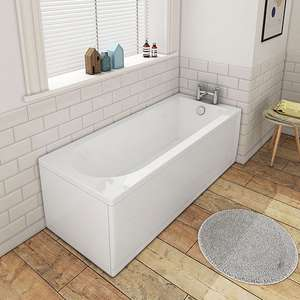 Banbury Bath 1800mm x 800mm Wide was £179.95 now £149.95 (plus £24.95 del) @ Victorianplumbing