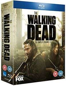 The Walking Dead - Season 1-5 (Blu-Ray) £19.99 Delivered @ TheEntertainmentStore via eBay