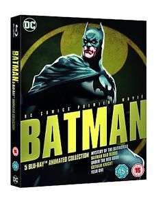 Batman: Animated Collection (Blu-Ray) £9.99 Delivered @ TheEntertainmentStore via eBay
