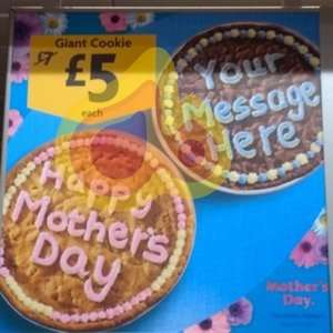 Giant Personalised Cookie £5 @ Morrisons instore
