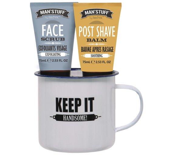 Man Stuff Men's Enamel Mug - £2.49 Free C&C or £3.95 Delivered at Argos