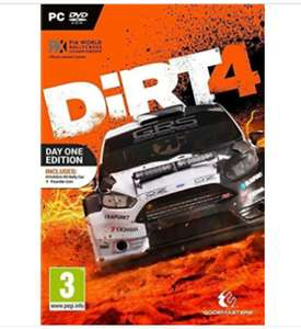 Dirt 4 - Day One Edition Pc DVD Discs Only New , £7.95 delivered @ eBay (seller: jpsurfshop)