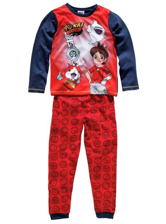 Boys Yo-kai Watch Single Pyjamas(3 Sizes) £3.49 + Free click and collect at Argos
