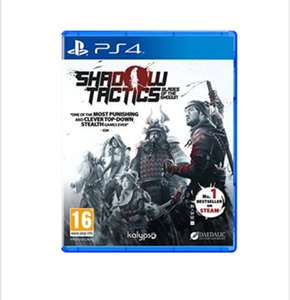 Shadow Tactics: Blades of the Shogun (PS4) , £17.99 delivered @Base