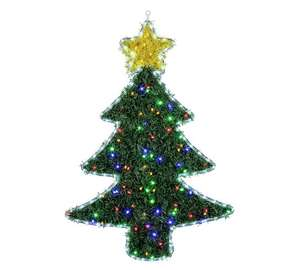 Collection Christmas Tree Hanging Ornament with Lights - £9.49 Free click and collect at Argos