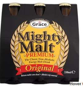Grace Mighty Malt Premium, 6x330mL bottles @ Asda instore and online - £2