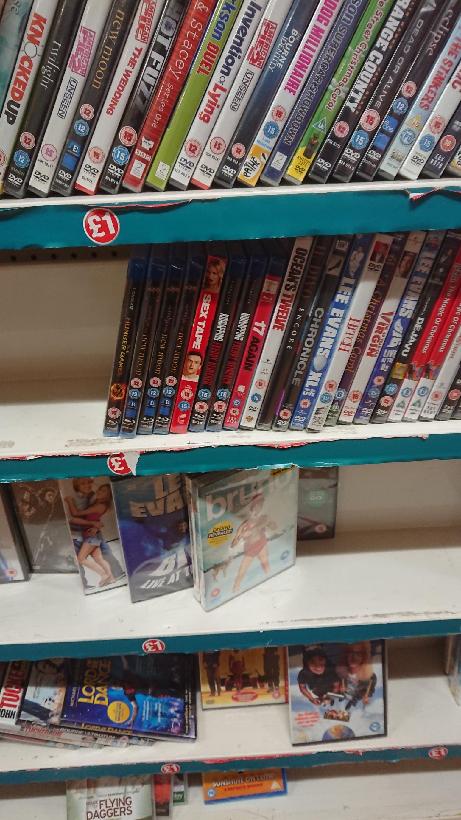Sex Tape Blu Ray £1 Poundland