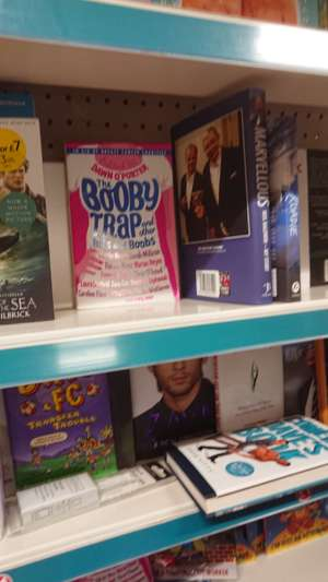 The Booby Trap book in store Poundland £1