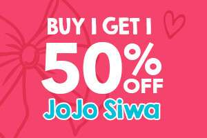 Buy One JoJo Bow Get One JoJo Bow 50% Off! Some Bows £5 at Claire's accessories + Free C&C