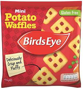 Birds Eye Mini Potato Waffles (456g) 1/2 Price was £2.00 now £1.00 @ Asda