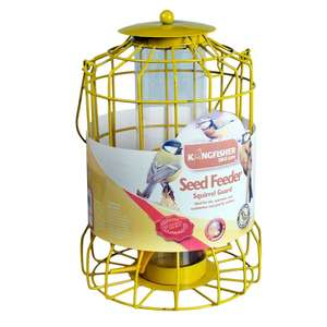 Kingfisher Squirrel / Large Bird Guard Seed Feeder £2.00 C+C @ Robert Dyas