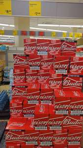 12 x 330ml Bottles Of Budweiser (Twist Off Cap) In Store, £7 @ Aldi