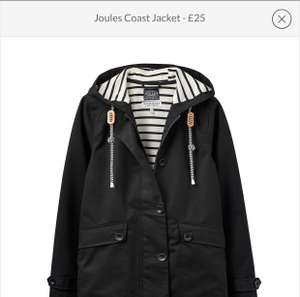 Joules coast jacket £25 at Sports Direct for £29.99 delivered