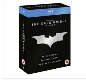THE DARK KNIGHT TRILOGY BLU-RAY , £13.99 delivered @ Zavvi