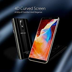 KOOLNEE K1 4G Unlocked 6.01 Inch 2160 x 1080 Pixel 18:9 Full Screen Android 7.0 MTK6750T 1.5GHz Octa Core 4D Curved Screen 4GB RAM+64GB ROM 2MP+16MP Dual Cameras 3190mAh Battery Dual SIM Fingerprint - Black Sold by Koolnee and FBA for £169.99