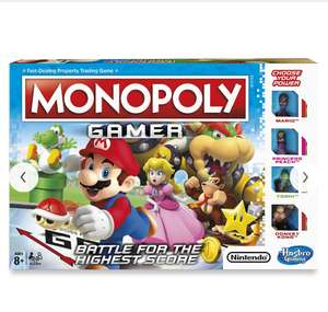 Monopoly Nintendo Gamer Edition, for £16.99 plus delivery @ John Lewis (£3.50 delivery/£2.50 C&C)