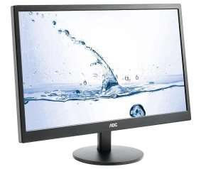 AOC 23.6in Monitor with speakers & HDMI x2 £89.15 @ Ebuyer