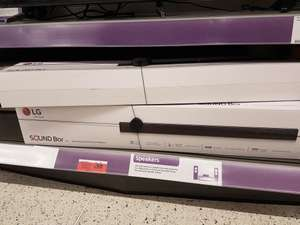 LG SJ1 soundbar in-store at Sainsburys Charlton London for £50