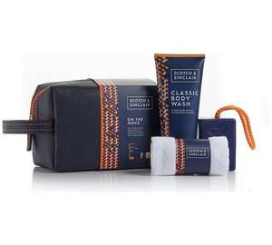 Scotch and Sinclair Wash Bag £3.49 + Free click and collect at Argos