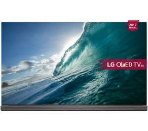 """Curry's -- LG OLED77G7V 77"""" Smart 4K HDR OLED TV -- Save £12,000.00 - £7999 @ Currys"""