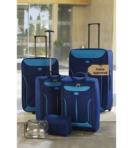 6 piece luggage set only £39.99 + £4.99 delivered @ Studio