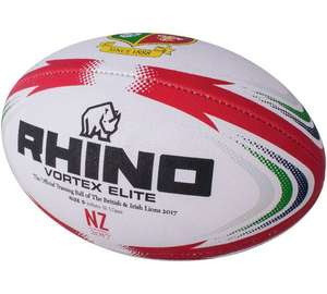 Lions Replica Rugby Ball - Size 5 £2.99 + Free click and collect at Argos