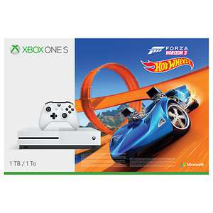 Xbox One S Console, 1TB, with Wireless Controller and Forza Horizon 3 Hot Wheels Bundle £220.08 @ Amazon France