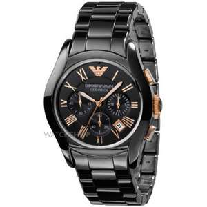 Only £260 for Emporio Armani Men's Ceramic Chronograph Watch - Watch Shop