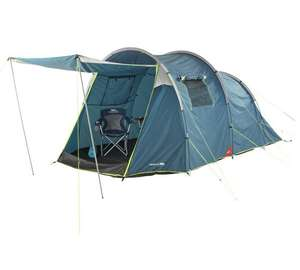 Trespass 4 Man Tent with Carpet £92.99 + Free click and collect at Argos