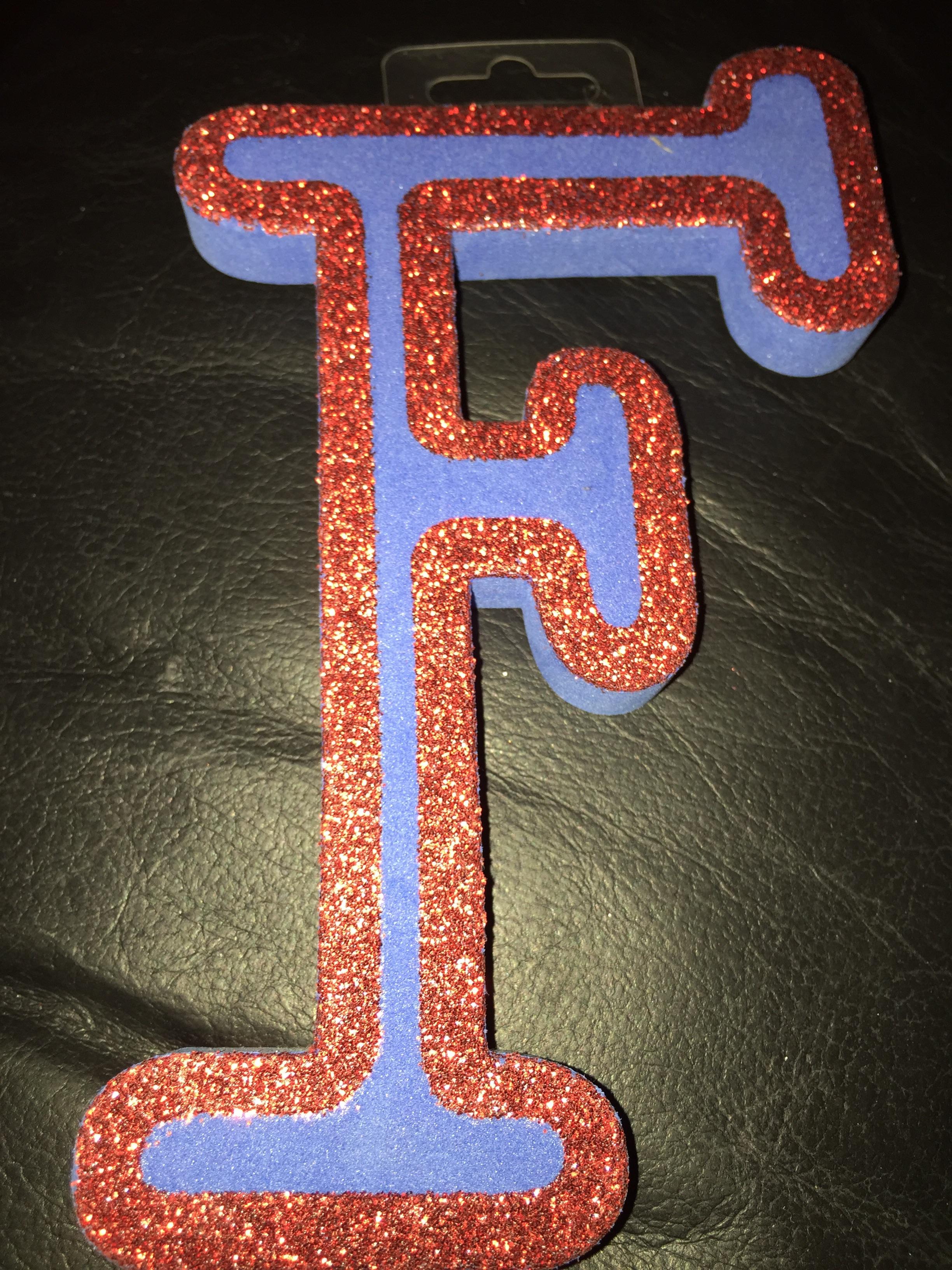 DIY Letter Decoration 5p Poundland Barking
