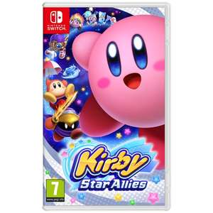 Kirby Switch PRE-ORDER £38.99 @ Smyths when ordered into store