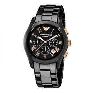 42mm Emporio Armani AR1410 Black Mens Watch £86 from chaishenyeah99 Ebay - Free UK Delivery