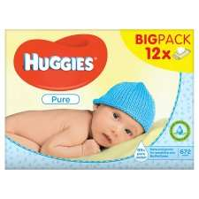 12 x packs Huggies Baby wipes £6.50@Tesco