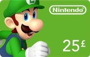 Nintendo Eshop £25 voucher card for £24.05 @ CDkeys