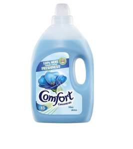 Comfort Blue Fabric Conditioner 85 Wash 3L £3 @ Tesco