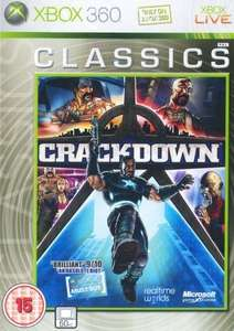 Crackdown- just added to Xbox update program - £4.98 gametrade_ltd ebay