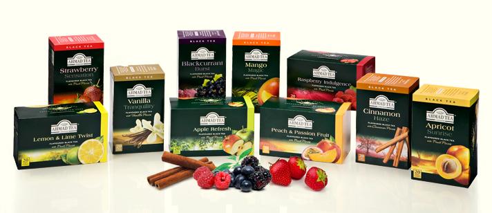Free Tea Sample Pack from Ahmad Tea