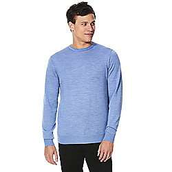 Merino wool mens crew neck jumper S,XL,XXXL £11 was £22 @ Tescodirect
