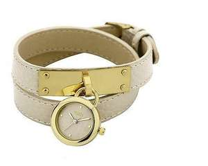 Oasis Double Leather Ladies Watch - £9.99 @ Hogies