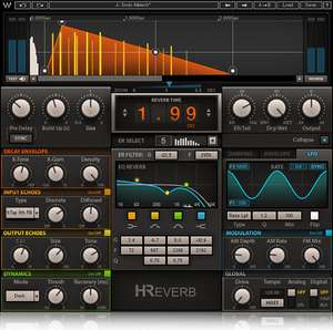 Music Production: Waves H Hybrid Reverb plugin (£252) - £21 today only @ Waves