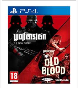 Wolfenstein The New Order and The Old Blood Double Pack (PC) £12.99 / (PS4)  £15.85  Delivered @base