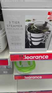 3 tier steamer - instore @ B&M reduced to £6.99