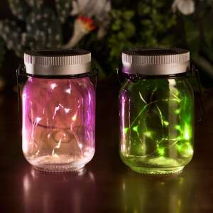 SOLAR FAIRY JARS (SET OF 2) £7.50 with code FIFTY + Delivery £1.99 at I want one of those