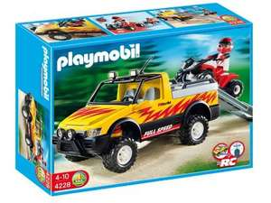 Playmobile pick up truck and quad - £14.50 @ Tesco (Free C&C)