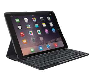 Logitech SLIM FOLIO Case with integrated Bluetooth keyboard for iPad (5th generation, 2017 release) - Ebuyer - £63.99 delivered