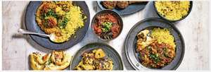 Indian Meal Deal 2 mains 2 sides and 1 rice for £10 @ Waitrose