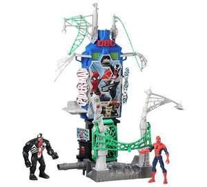 Spider-Man Web City Daily Bugle Battle £15.99 + Free click and collect at Argos