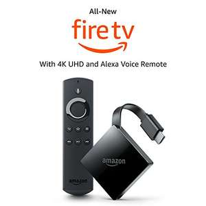 Fire TV with 4K Ultra HD and Alexa Voice Remote £54.99 on Amazon (Deal of the day)