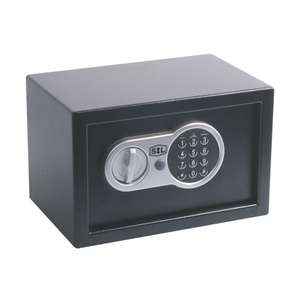 Smith & Locke Electronic Safe 9L for £12.99 @ Screwfix (Free C&C)